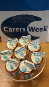 carers week cupcake