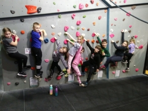 Harrogate Young Carers Climbing Trip Feb 2020